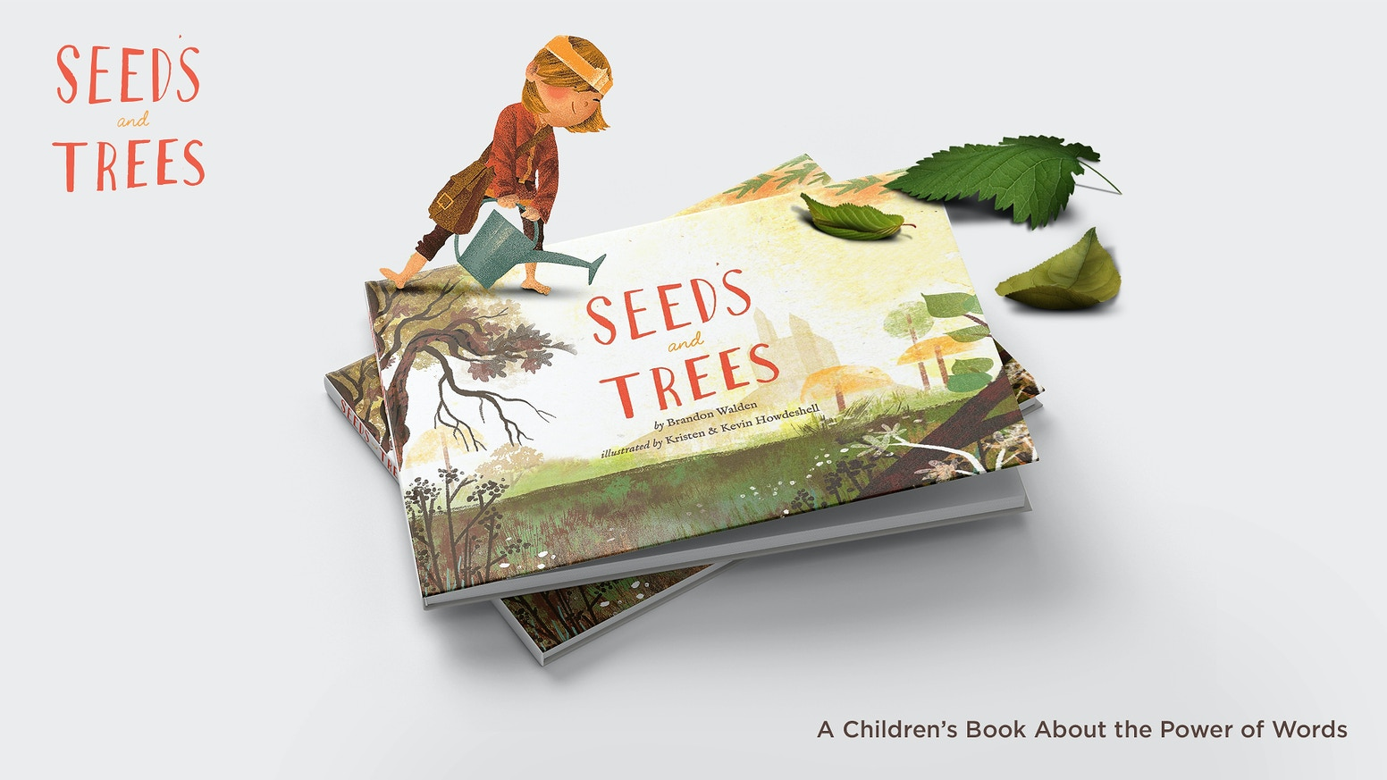 """Seeds and Trees is a story about the power of words (seeds). """"Be careful what you water, for it will surely grow."""""""