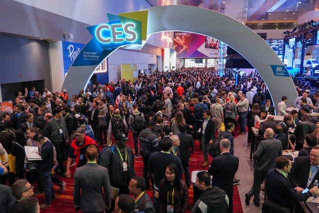 CES - the largest consumer electronics show in the world