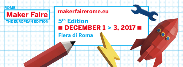This year's edition of Maker Faire Rome is going to be epic!