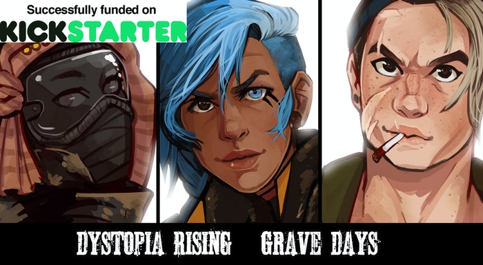 An amazing full color graphic novel based in the Dystopia Rising universe.