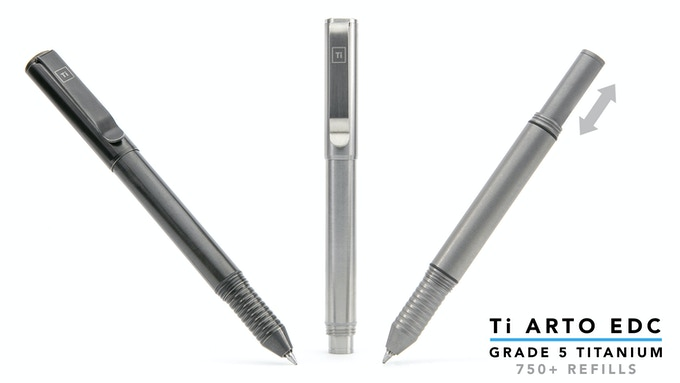 Our most adjustable pen yet.