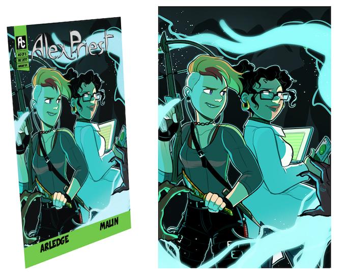 Variant Cover Mock Up + Print Add-On Reward