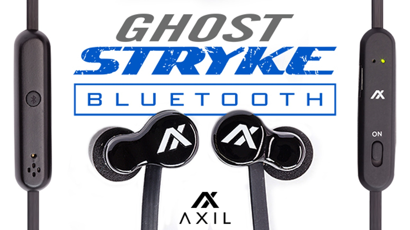 AXIL GhostStryke Bluetooth All-In-1 Hearing, Audio & Ear Pro