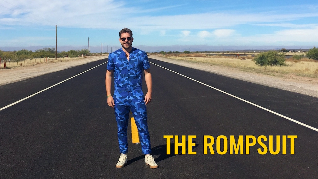 The RompSuit: your new favorite outfit has arrived project video thumbnail