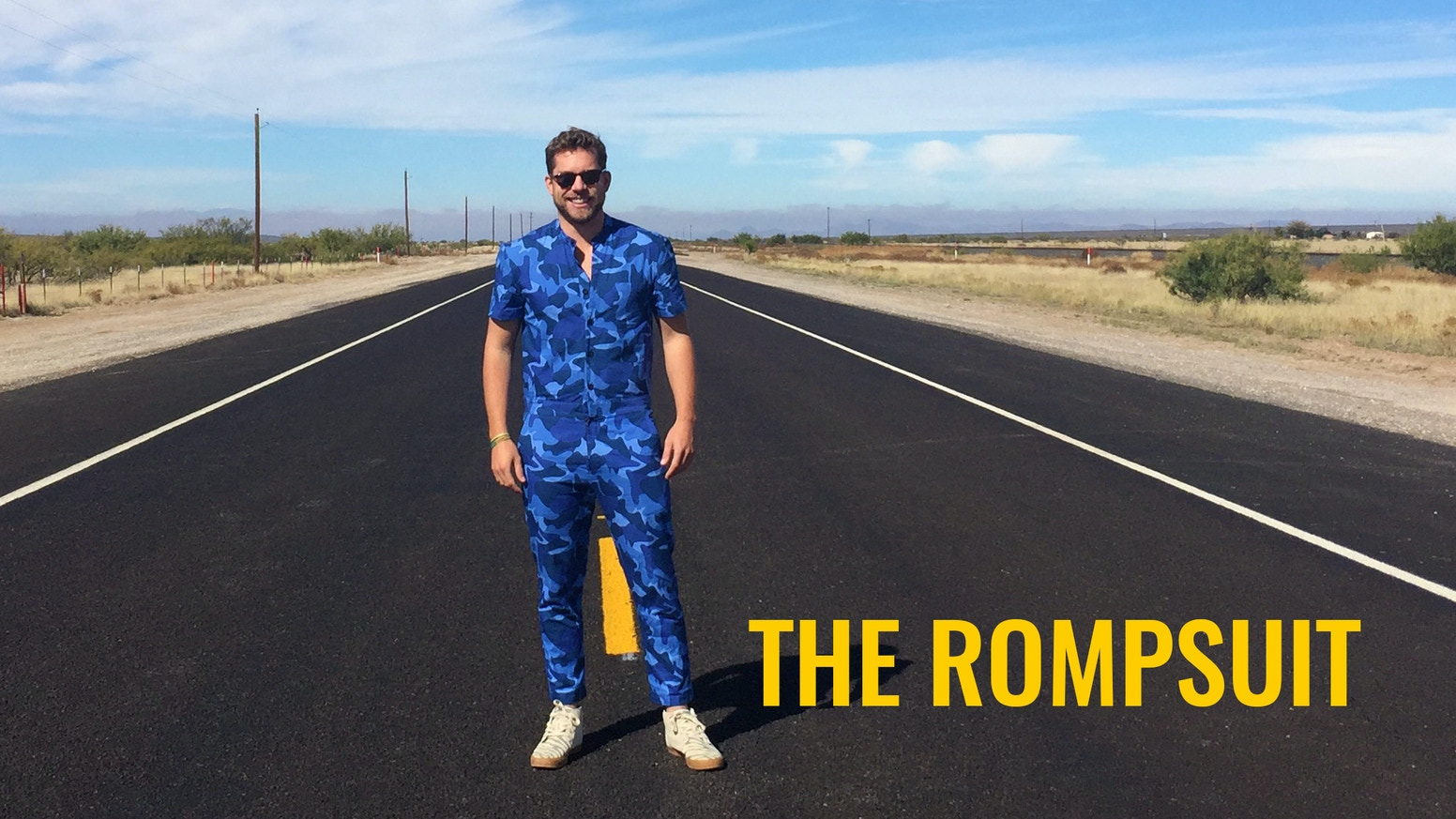 Say goodbye to basic men's fashion. RompHim is back with a modern jumpsuit that you never knew you needed...until now.