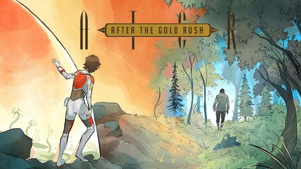 After the Gold Rush #1-#4 -An Optimistic Scifi project video thumbnail