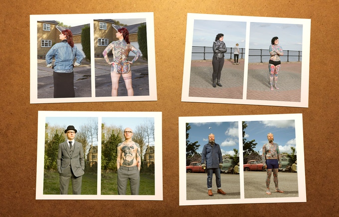Pledge 2.  £20.00:  Set of 4 A5 ink jet prints  /  Your name in the finished book  / BIG thanks from me