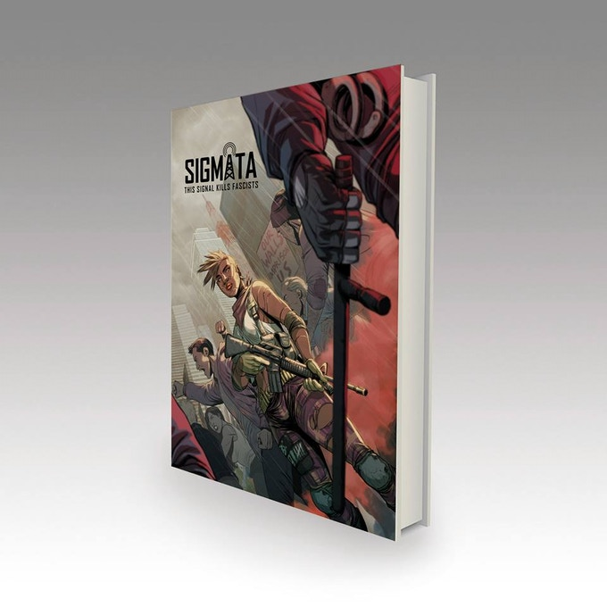 Artist's rendition of the hardcover edition