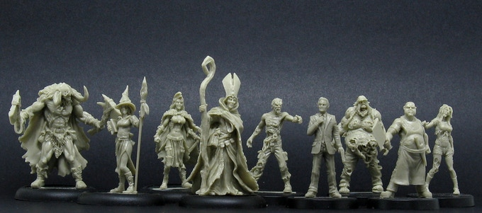 Aenor Miniatures resin range