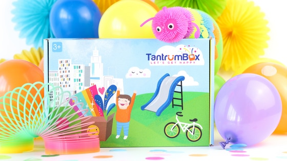 TantrumBox / A Box Of Sensory Distractions That End Tantrums