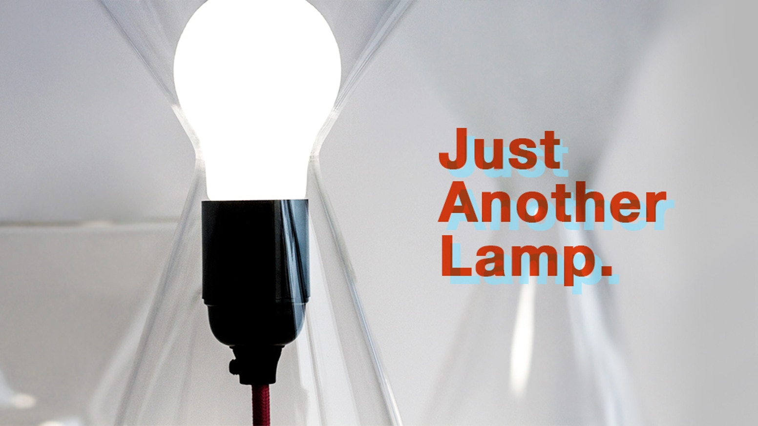 "What Do You Get When You Combine an Hourglass with a Light Bulb? ""Just Another Lamp""