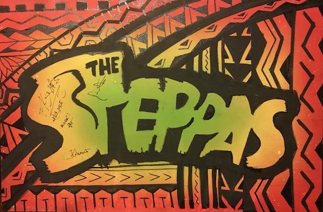 The Steppas Custom Painting
