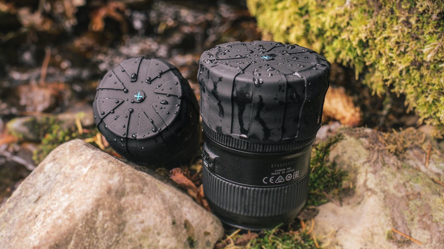 Universal Lens Cap - 1 Cap for Every DSLR Camera Lens