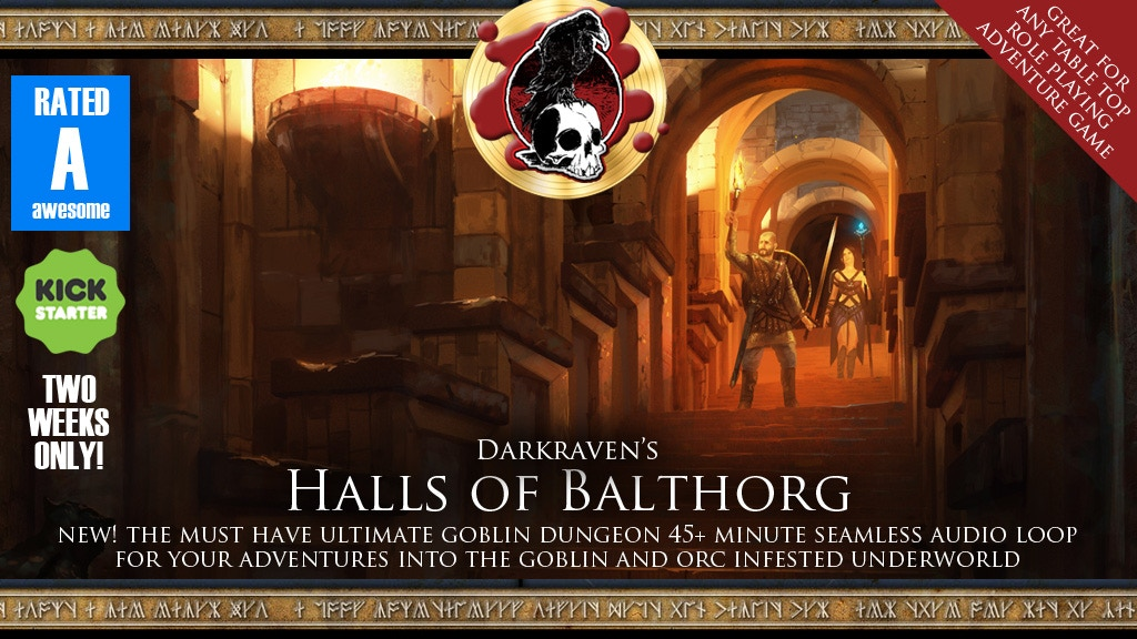 Halls of Balthorg - Awesome Goblin Dungeon Audio project video thumbnail