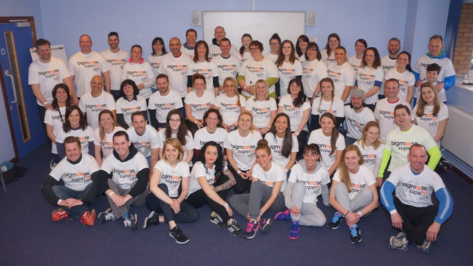 we have over 400 incredible volunteers