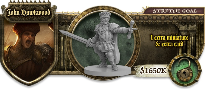 All of these unlocked stretch goals are added FREE to every Maiden pledge 782b315a2f83