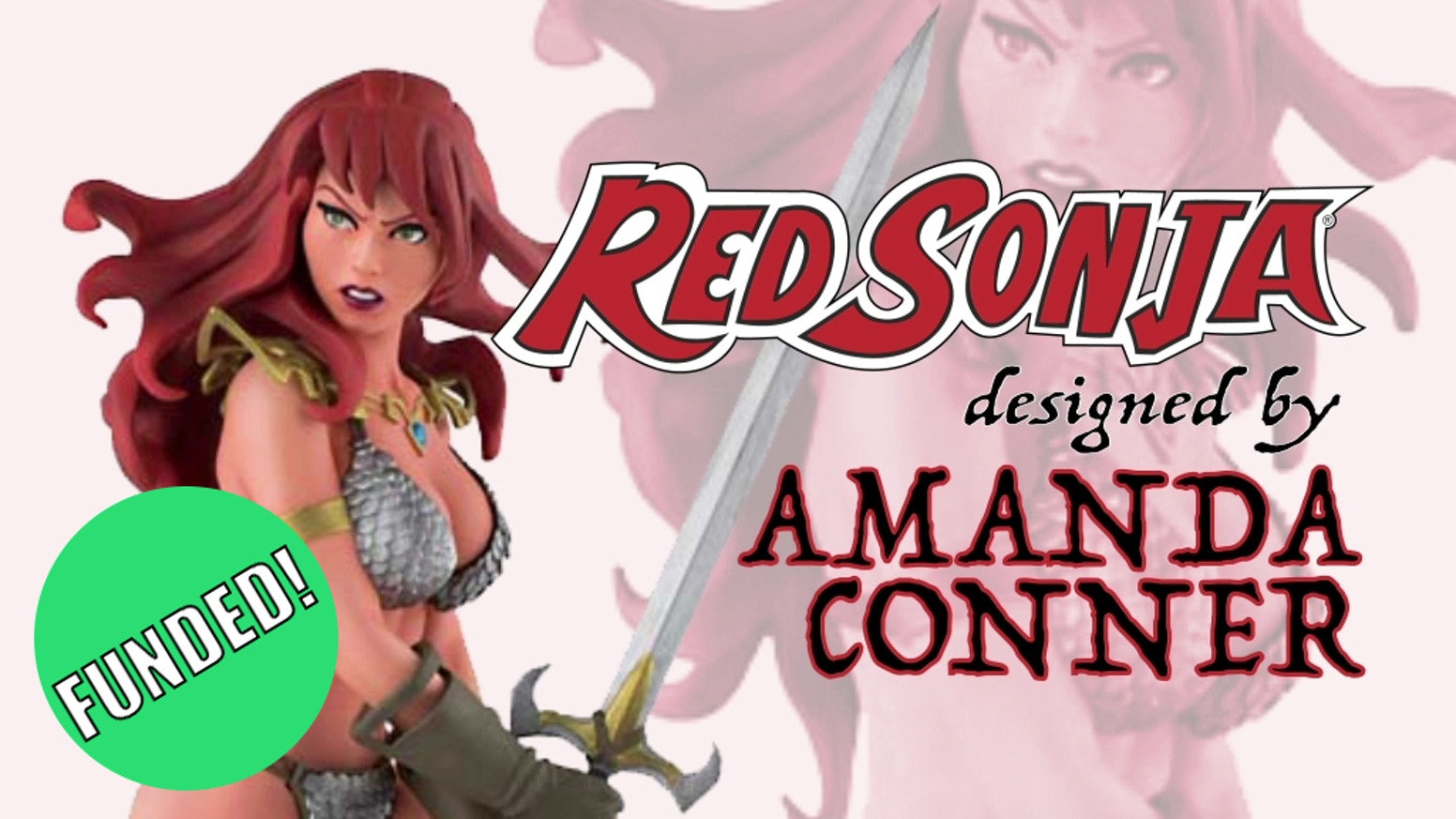 We are bringing Amanda Conner's incredible Red Sonja artwork to life in a beautiful collector statue.