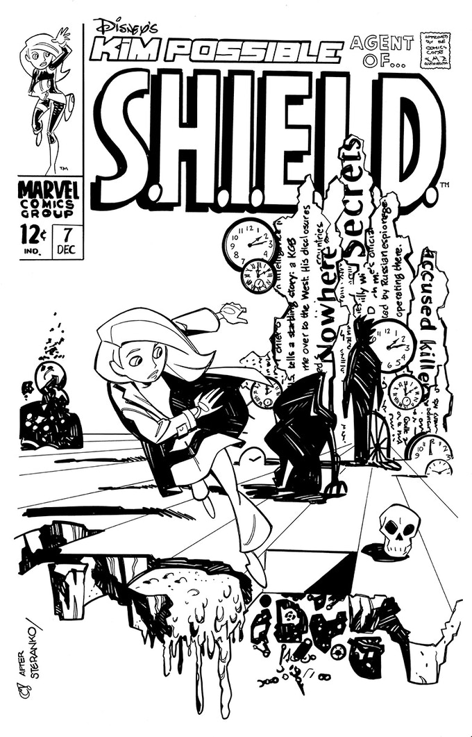 faux cover sample (kim possible)