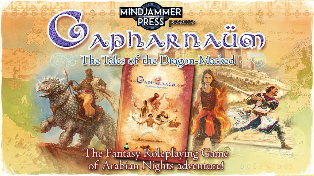 Capharnaum - The Roleplaying Game project video thumbnail