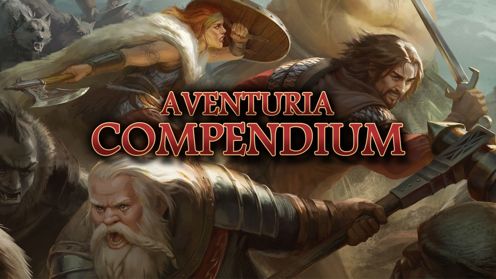 Aventuria Compendium - The Dark Eye RPG project video thumbnail