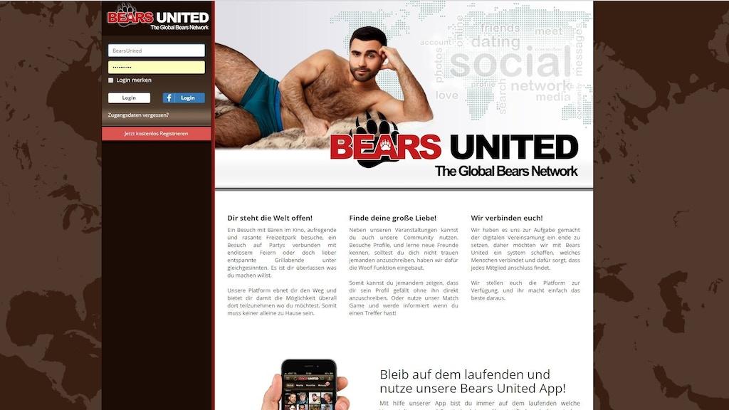 Bears United - Global Dating Network for the Bears Community