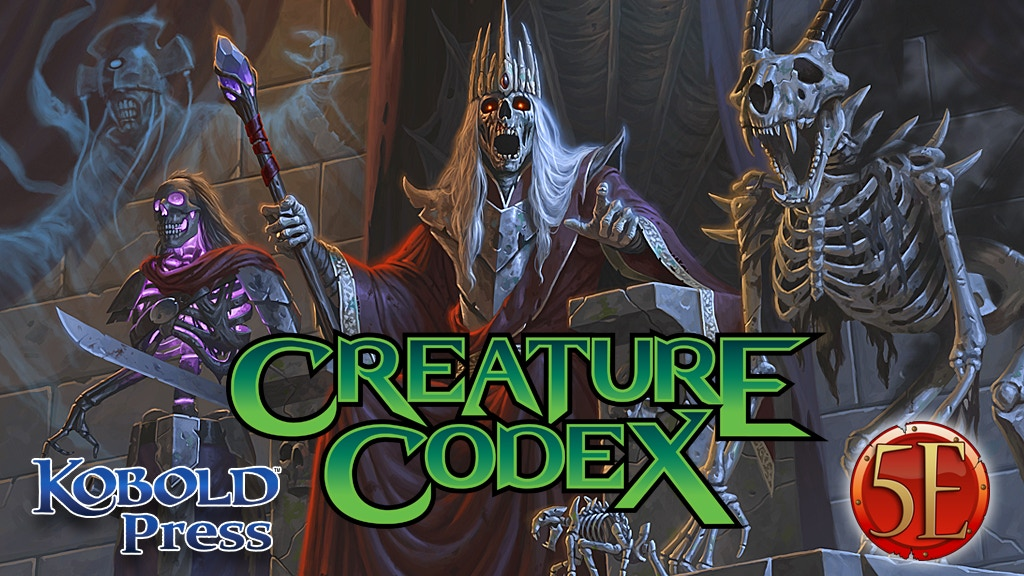 Creature Codex: 5th Edition Monsters Including Commissions project video thumbnail