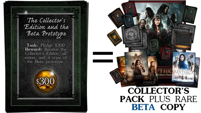$300 - Collector's Pack + BETA Version