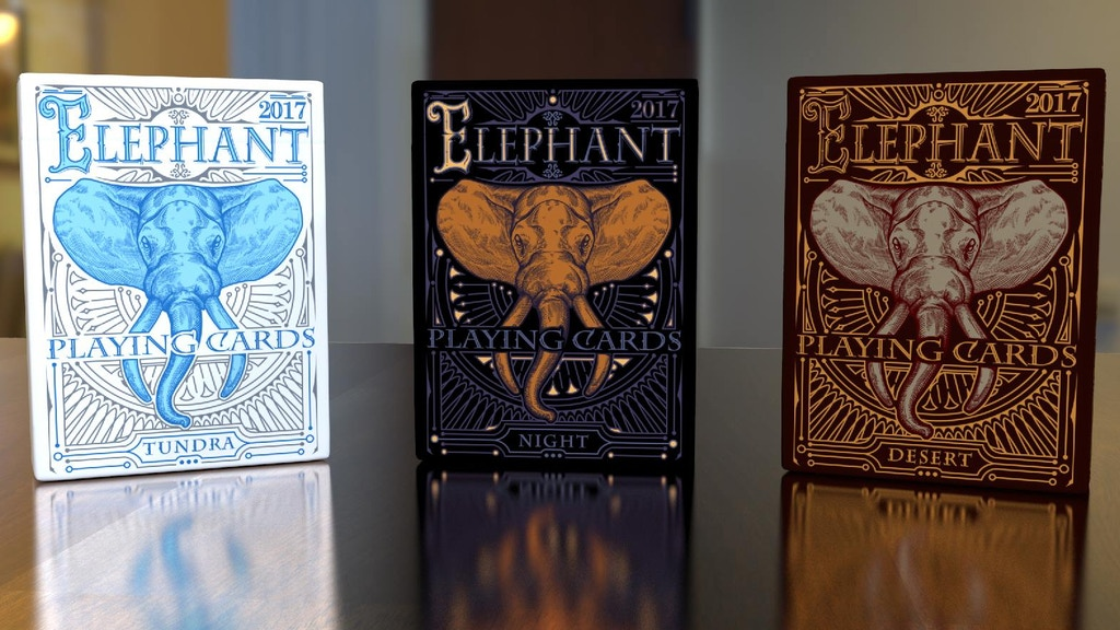 ELEPHANT Playing Cards Relaunch project video thumbnail
