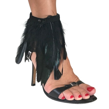 Feather Ankle Strap