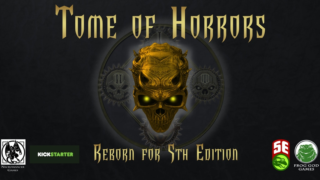 Tome of Horrors: Reborn for Fifth Edition project video thumbnail