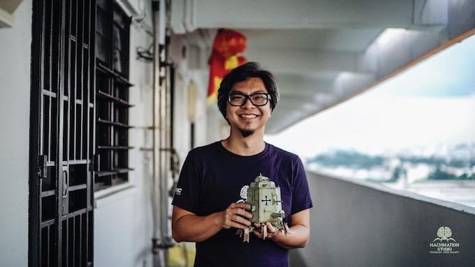 Former STIKFAS toy designer, Michael Sng