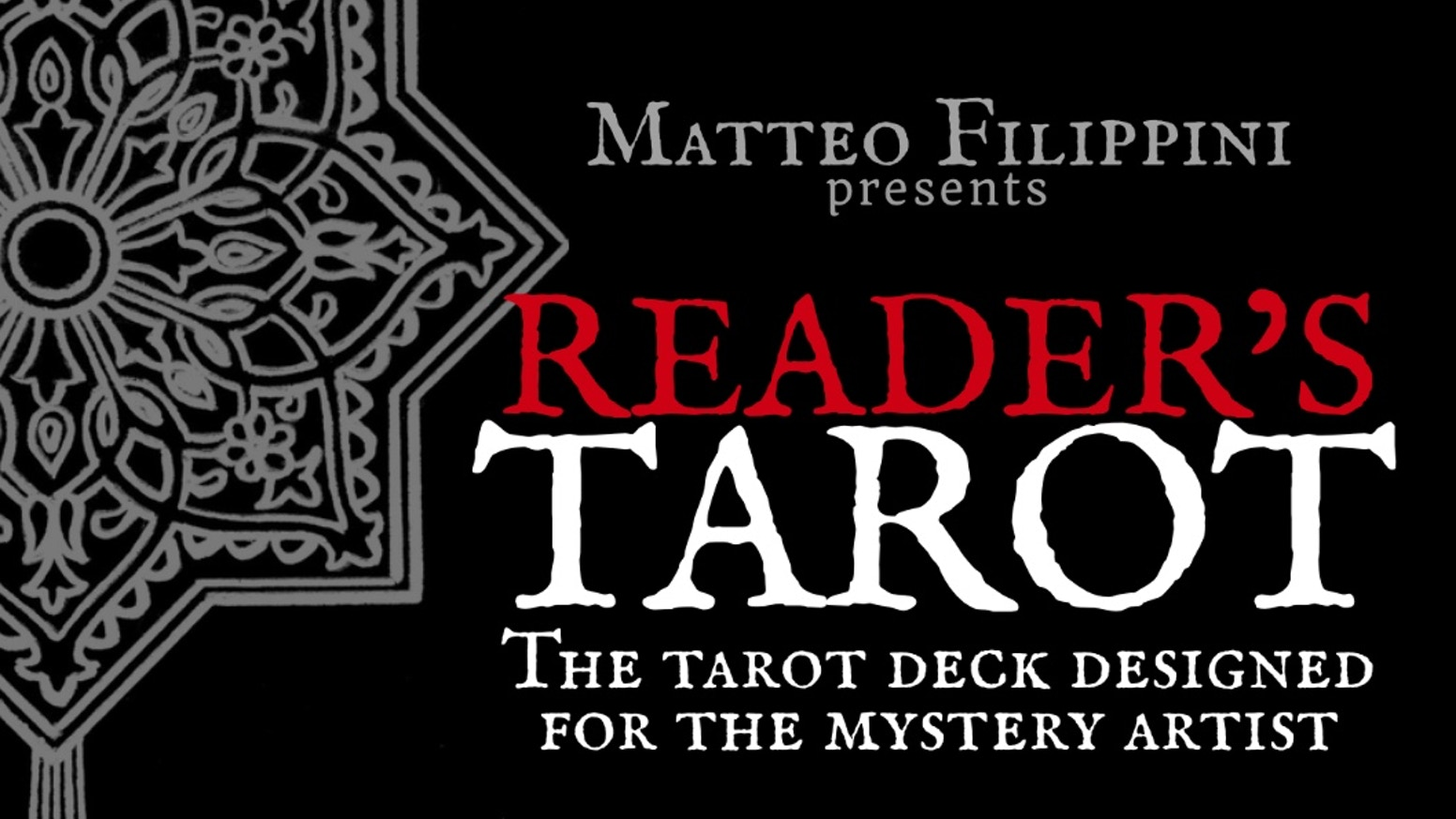 The Reader's Tarot Deck is the perfect deck for mentalists, magicians, readers and any other mystery artist!