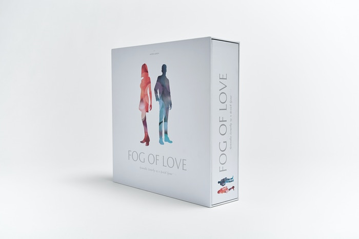 Fog of Love - romantic comedy as a board game by Hush Hush