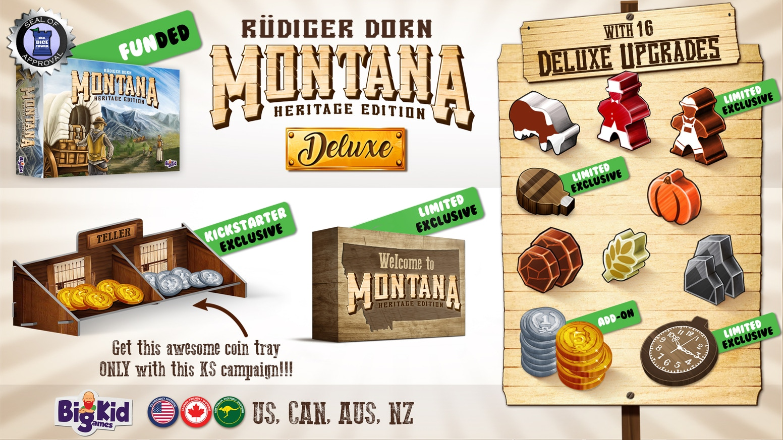 Montana is on the way to North America. Order your copy at your local game store!