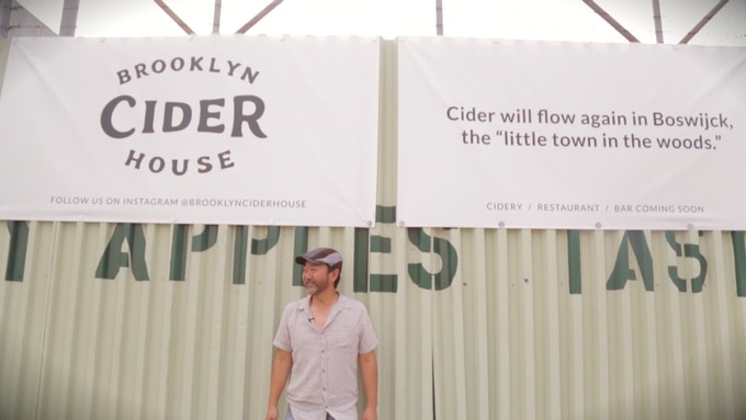 """Cider will flow again in Boswijck, the """"little town in the woods."""""""