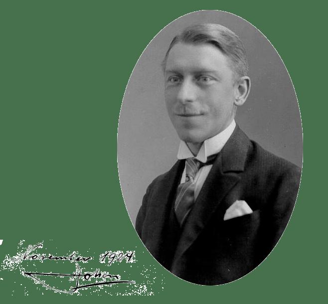 Ihagee founder Johan Steenbergen