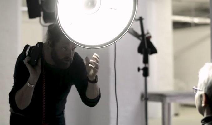 Shooting in the studio with ELBAFLEX