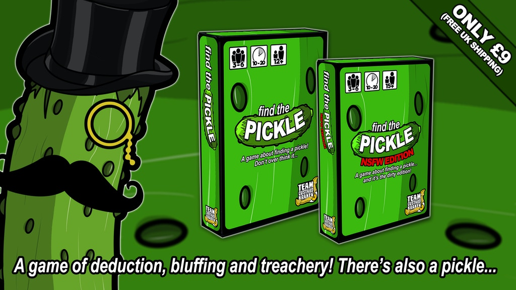 Find the Pickle project video thumbnail