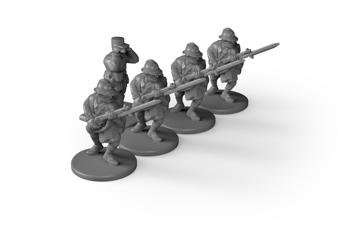 Special personnel figures are added to a unit to provide additional bonuses.