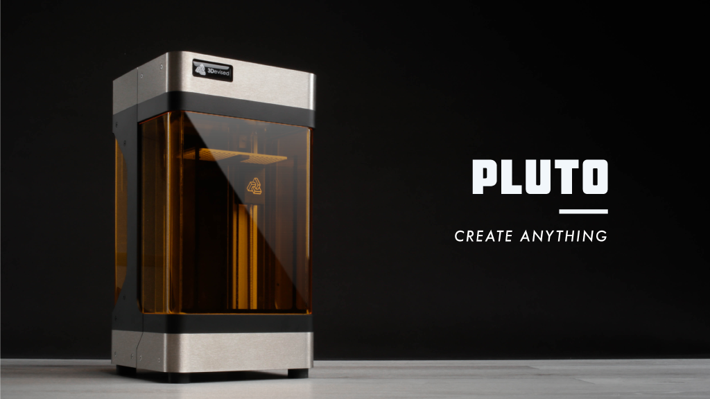 PLUTO - The world's smallest high-quality 3D Printer project video thumbnail