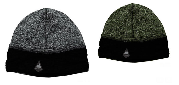 Colors Available: Asphalt Grey/Black (Left) & Moss Green/Black (Right)