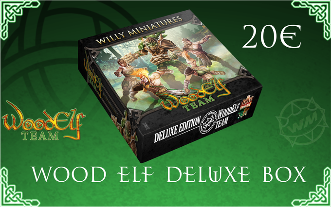 You can add  extra Wood Elf Deluxe Boxes to your pledge