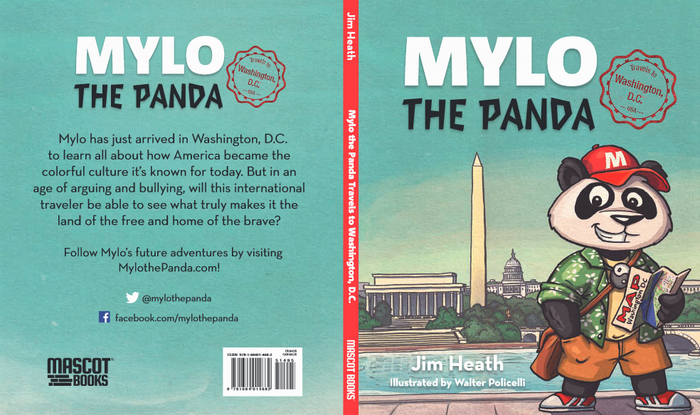 In this age of arguing and bullying, Mylo is traveling to Washington, DC to learn positive things about America.