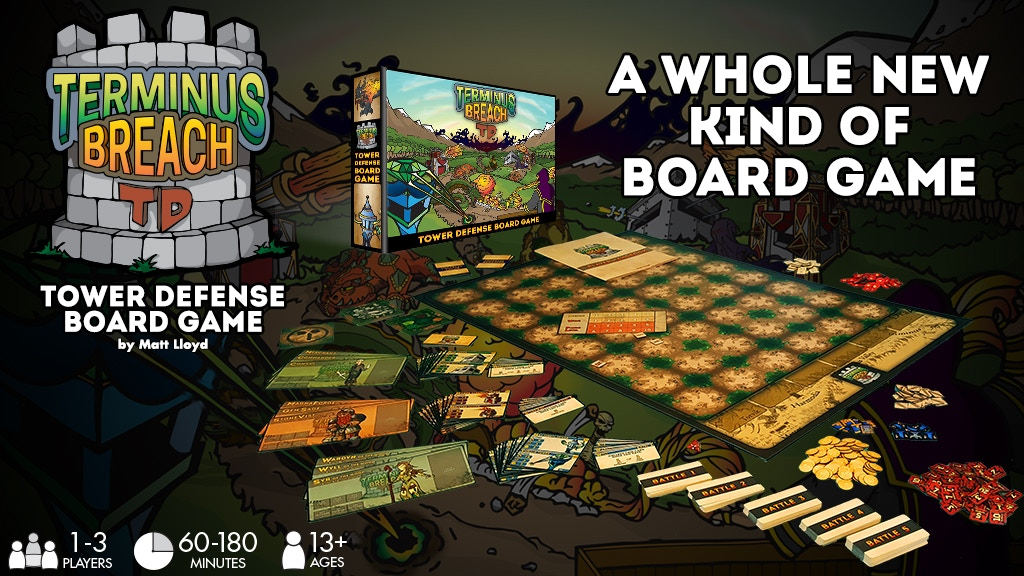 Terminus Breach TD - A Tower Defense Board Game project video thumbnail