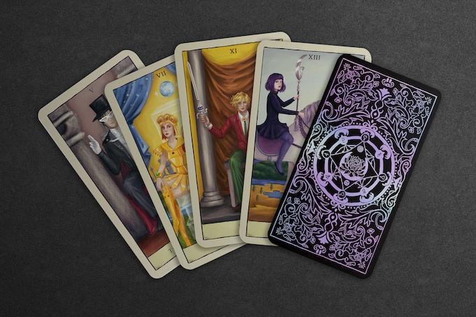 Additional card mock ups and backs