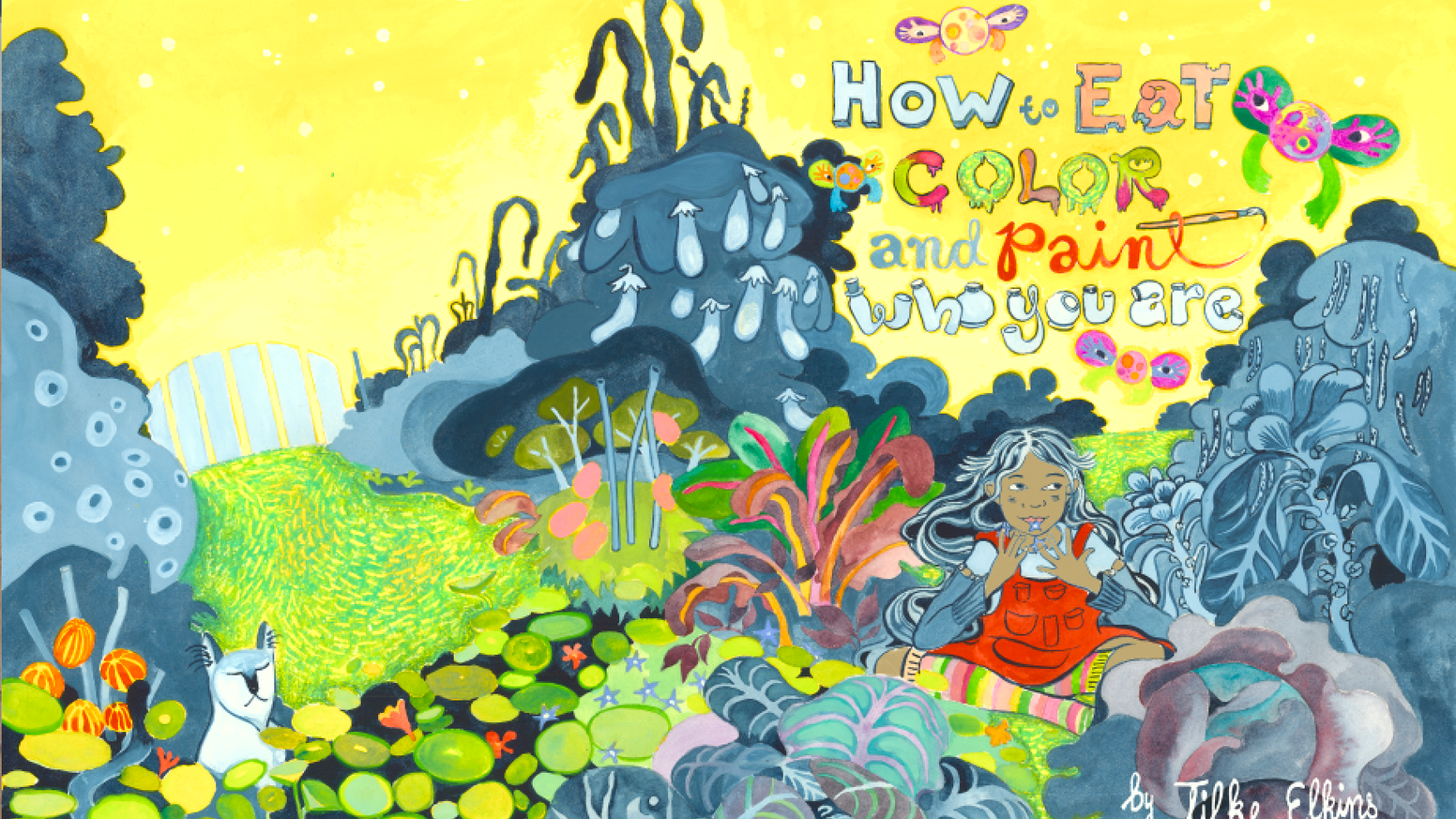 A lush picture book for kids of all ages about eating color, making your own paint, and creating 'color portraits' of people you love.