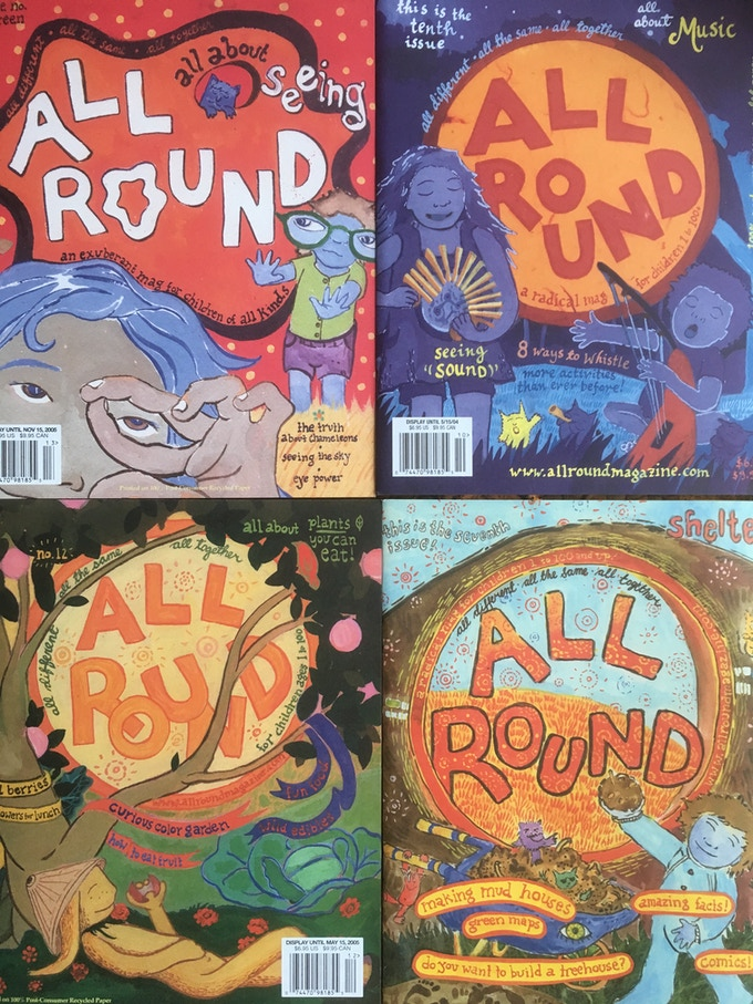 All Round, 'a radical mag for kids 1 to 100+'