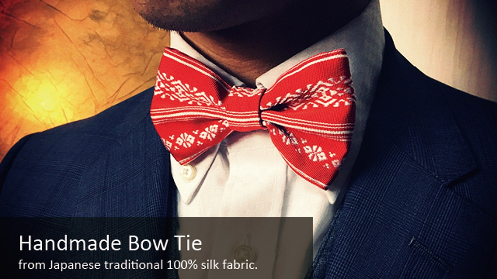Project image for Distinctive Handmade Bow Tie by ELEMENTI