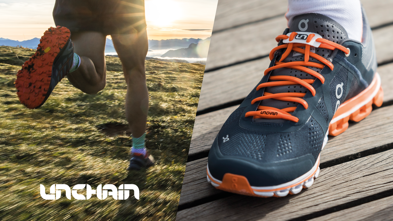 The 1st alternative lacing system, knot-free & customizable, molding to your foot with no compression improving comfort and performance