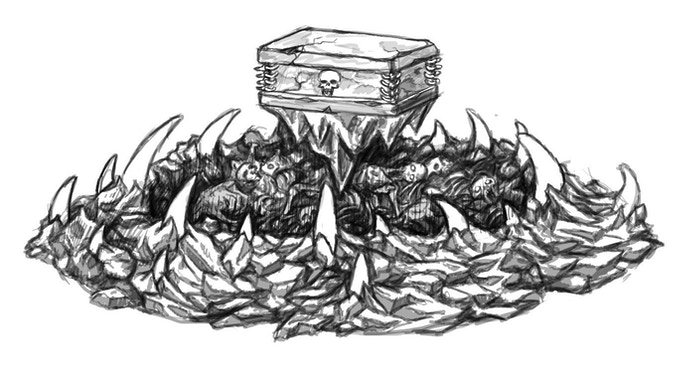 Charnel Pit. A FREE file for all Immortal Realms of Undeath & Commercial backers when we reach £4.6k